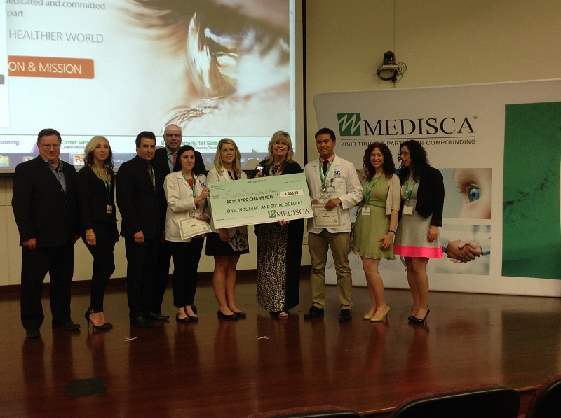 2015 Student Pharmacist Compounding Competition winners