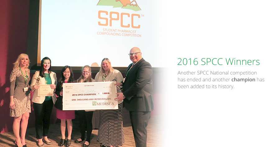2016 SPCC Winners - another SPCC National competition has ended and another champion has been added to its history.